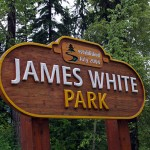 James White Park sign