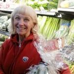 Kathy Clarke - weekly winner