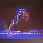 CP Holiday Train coming