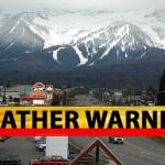 Fernie weather alert