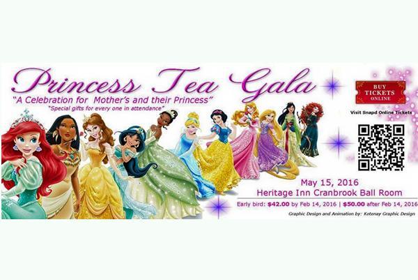 Princess Tea Gala