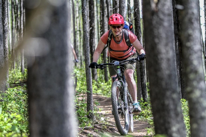 Women's Spring Into It Mountain Bike Weekend