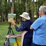 Artist Retreat with Joseph Cross - Pleine Air Painting - credit Bob Whethem