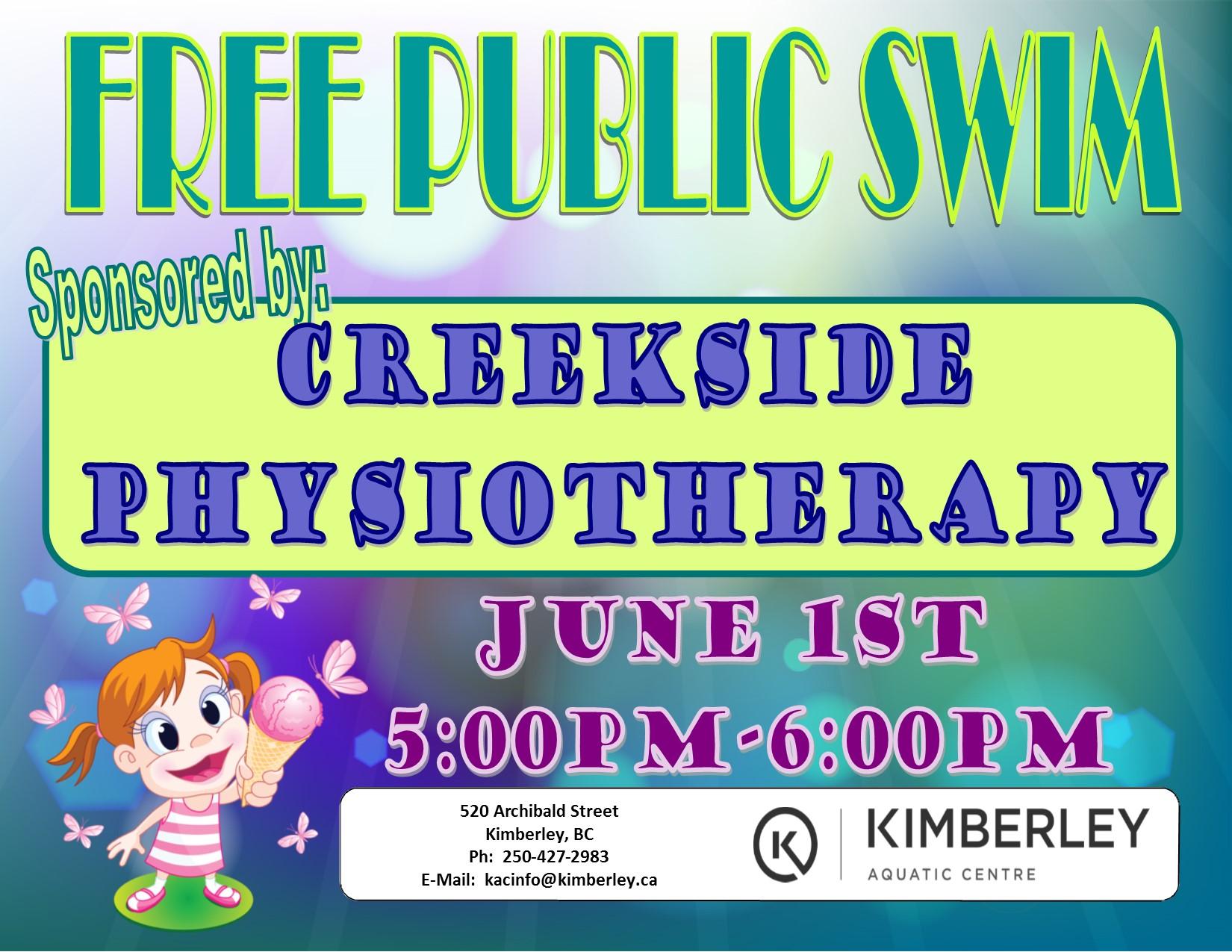 Free Public Swim