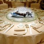 CH Refugees dinner
