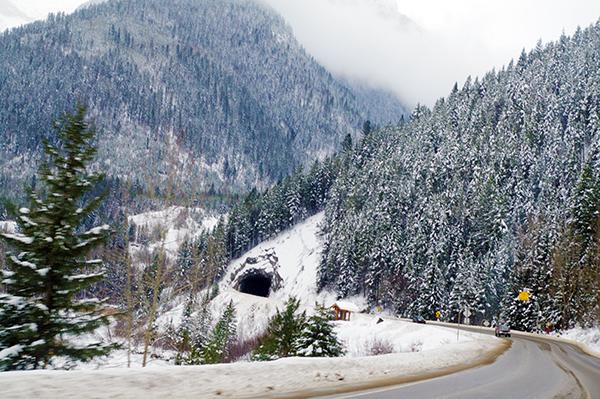 Elko Tunnel Hwy 3