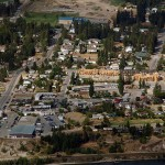 Invermere Downtown from Swansea