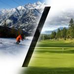 Ski Golf time