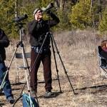 Naturalists Vance Mattson with RMNs, 19 Mar 2016