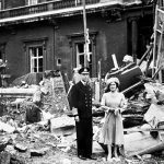 3. Buckingham palace bombed  Photo Credit Fox Photos:Getty Images