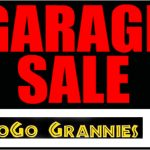 GoGo Grannies garage sale