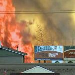 Fort Mac fire CBC image